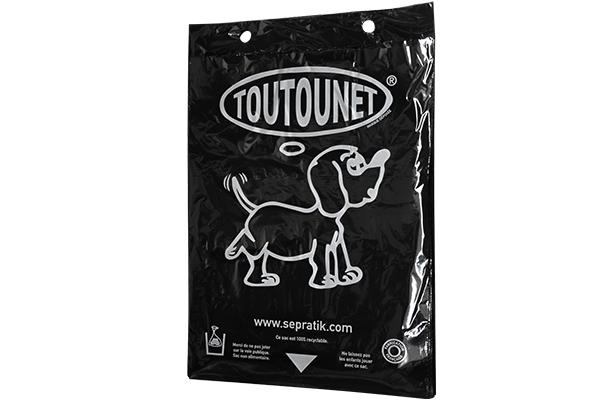 Carton de 5000 sacs TOUTOUNET® noir