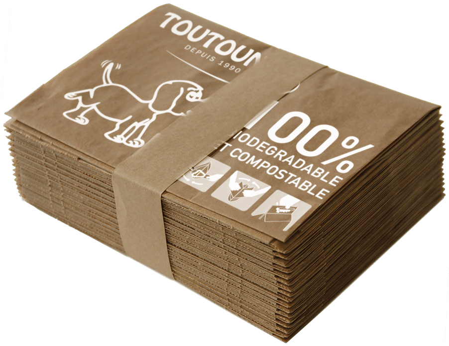 Carton de 720 sacs TOUTOUNET® papier