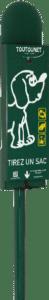 Toutounet : distributeur de sacs à déjections canines