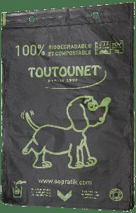 Liasse de sacs à déjections canines 100 % Biodégradable Home-Compost