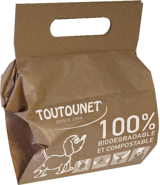 sacs TOUTOUNET BIO papier raclettes - carton de 720 sacs
