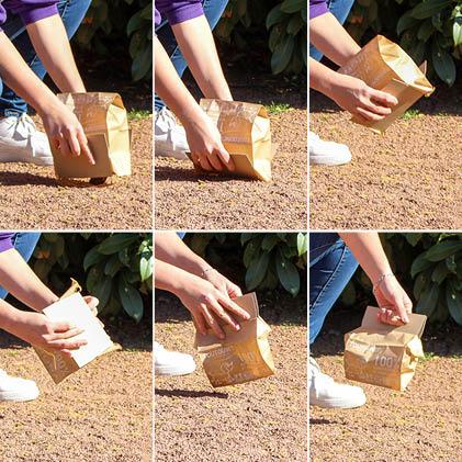 mode d'emploi sac papier-