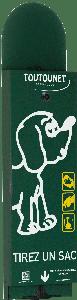 Distributeur de sacs à déjections canines TOUTOUNET-BORMES-LES-MIMOSAS