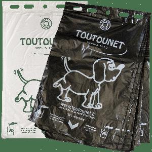 Sac à crottes de chien : TOUTOUNET ECO Fabriqué en France