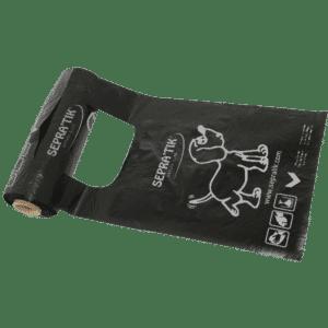 Rouleau de sacs SEPRATIK à bretelles pour ramasser les crottes de chiens